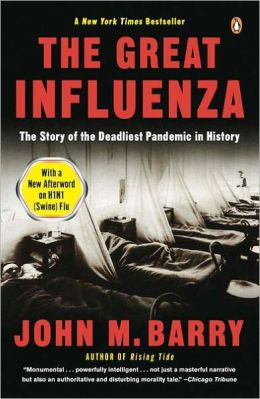 Great Influenza book cover