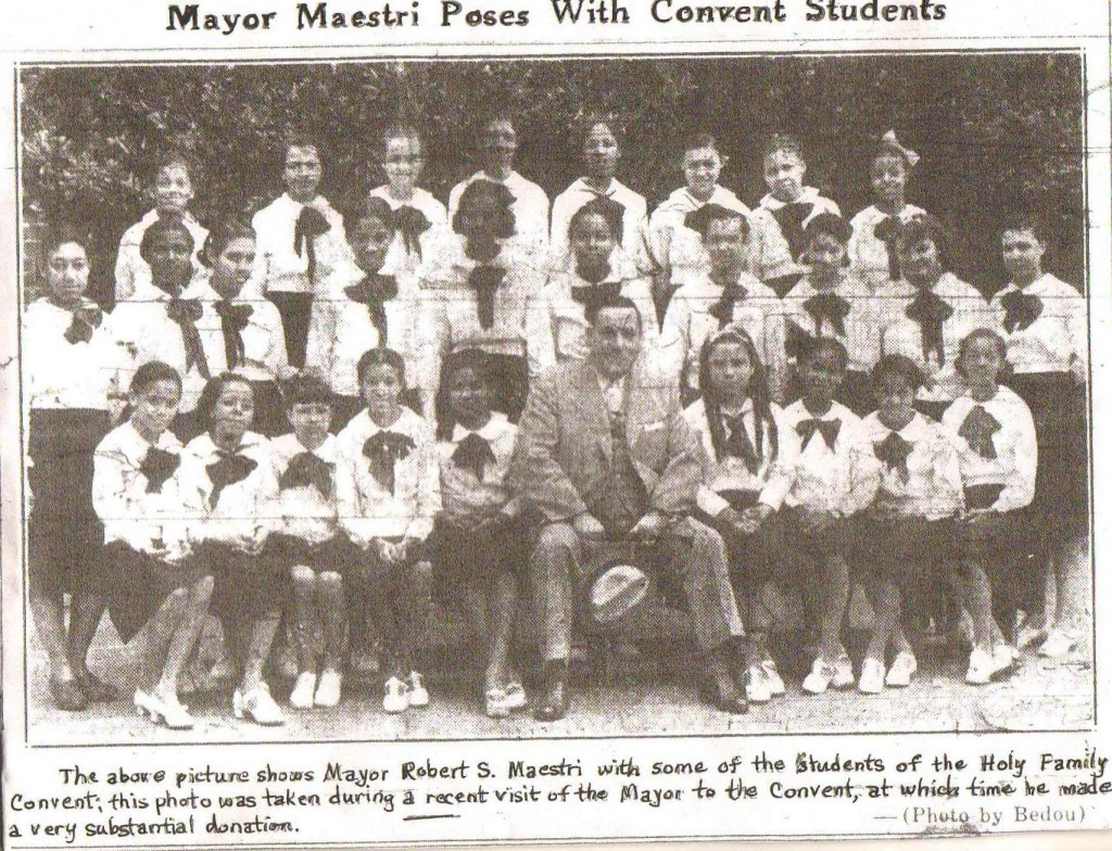 The Mayor at St. Mary's Academy