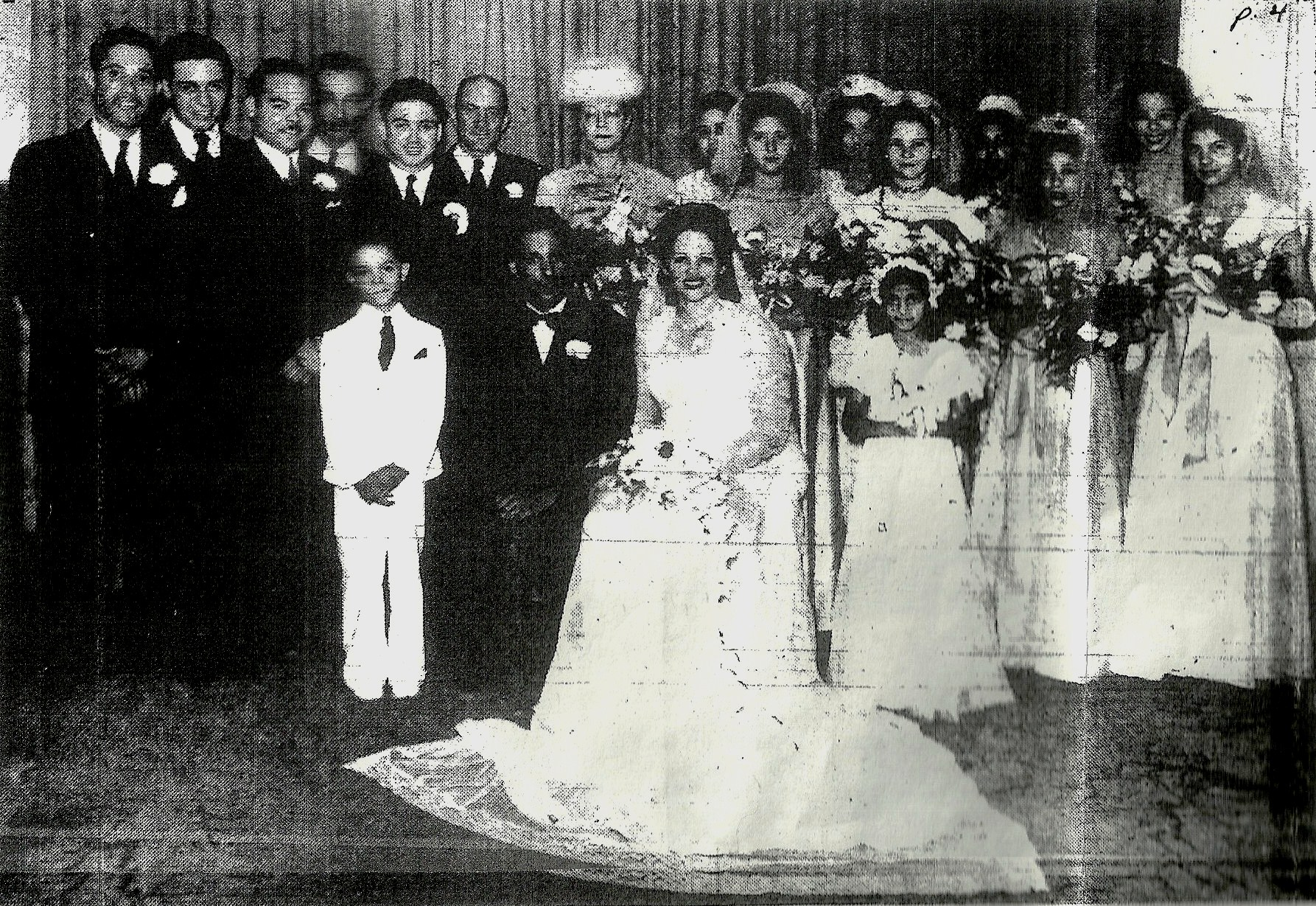 Kelso-Jones Nuptials 1946