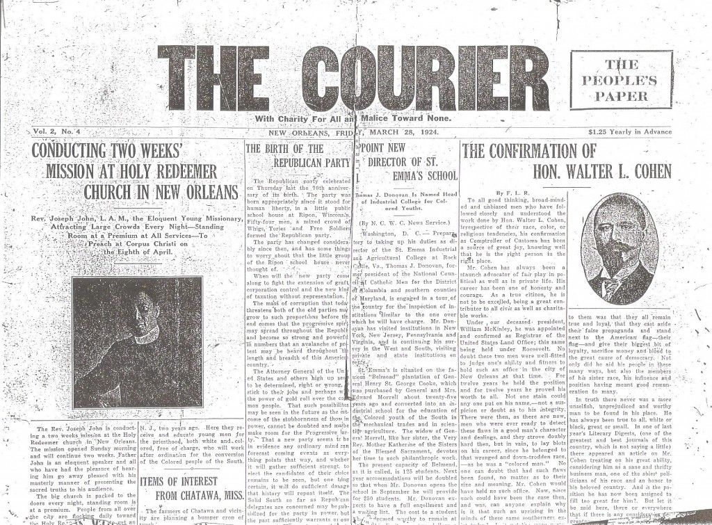 The_Courier_Father_Kelly_Corpus_Christi