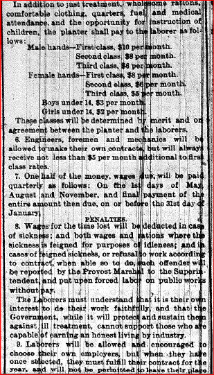 Plantation Regulations 2 4.29.1865