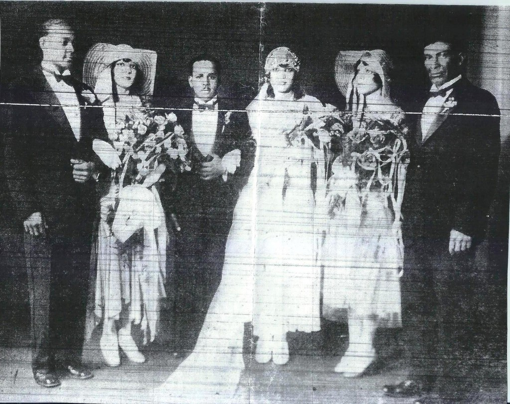 Haydel- Brown Wedding 1930 [#5]
