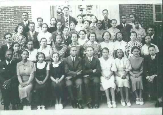 Senior Normal Class- 1937 (Valena C. Jones School)