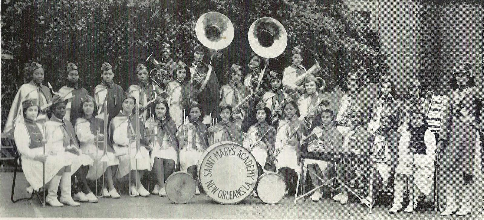 St. Mary's Academy's Band- 1944