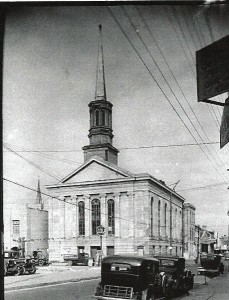 Central Congregation - South Liberty at Gasquet (now Cleveland St.)