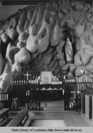Lourdes Grotto at Saint Martinville
