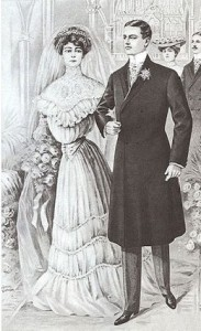 An 1890s Wedding Source: http://www.angelpig.net/victorian/ceremony.html