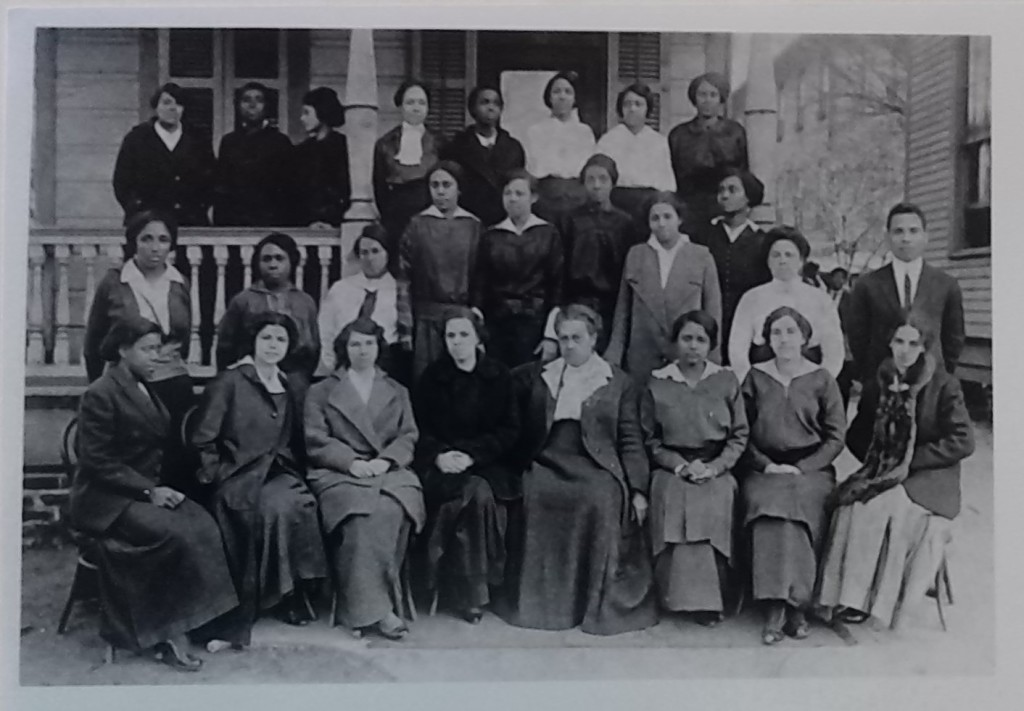President Sylvanie Williams 4th from right