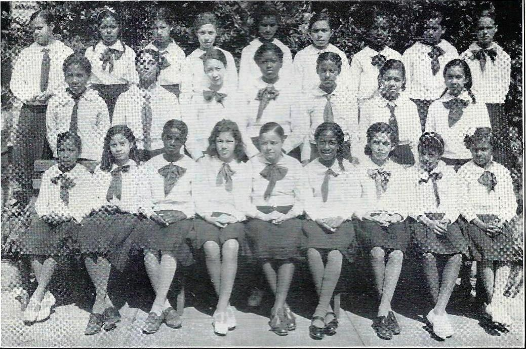St. Mary's Academy 6th-7th grades of 1937