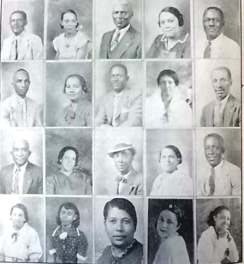 Convention Committe St Peter Claver 1938 1 cropped