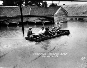 1927 Flood --in-Melville-Louisiana-