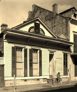 Residence of Virginia Reed, 823 Saint Louis Street (Courtesy: THNOC)