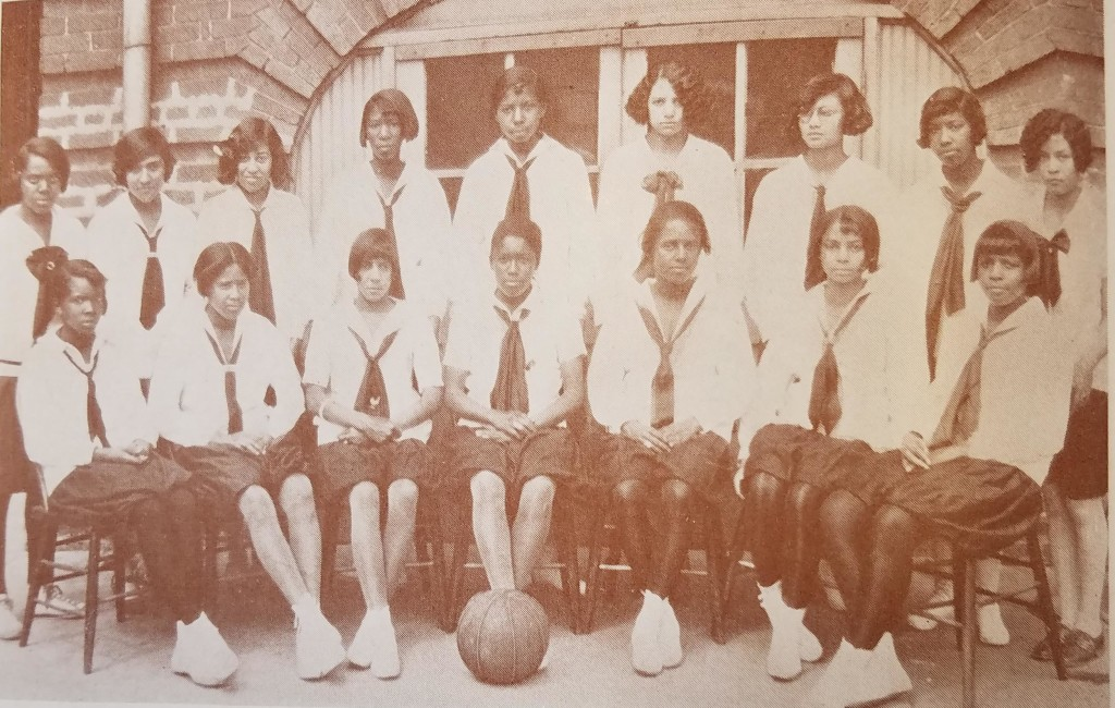 McD#35 Girls' Basketball Team (1928)