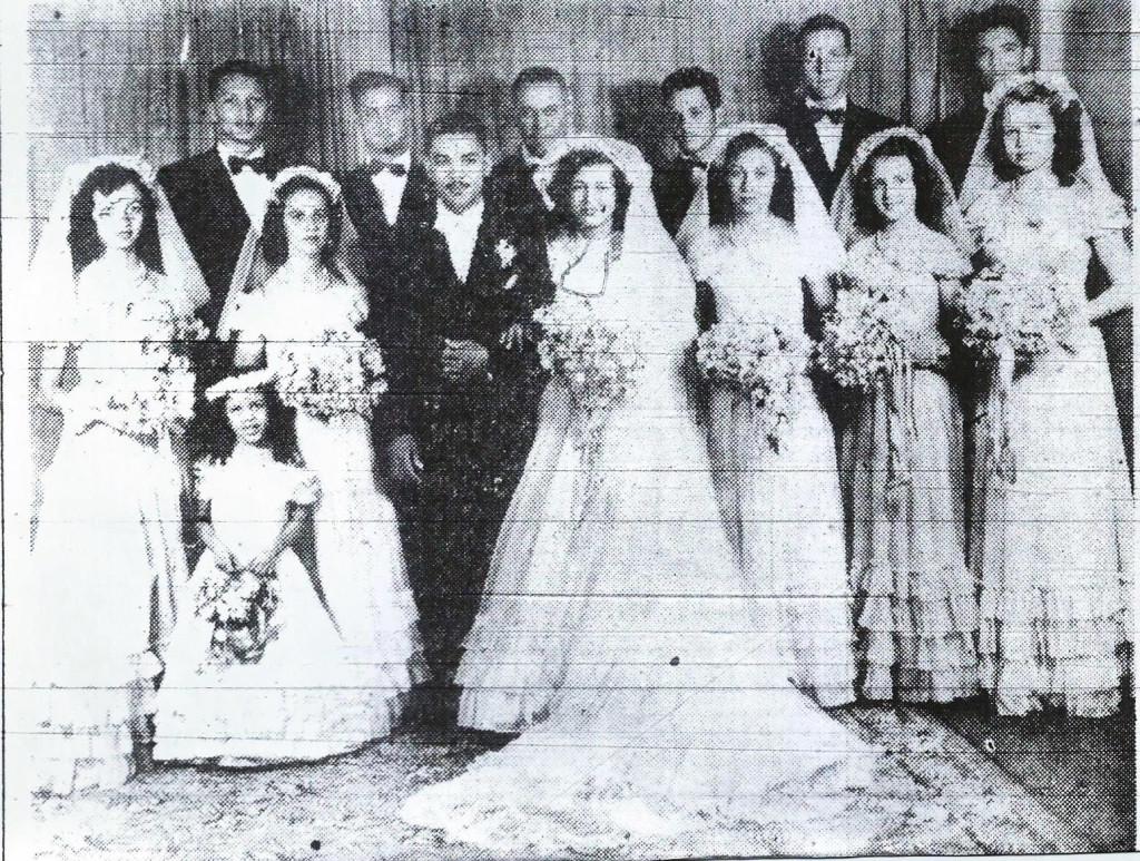 Wedding 1948- Barre+ Gaudin