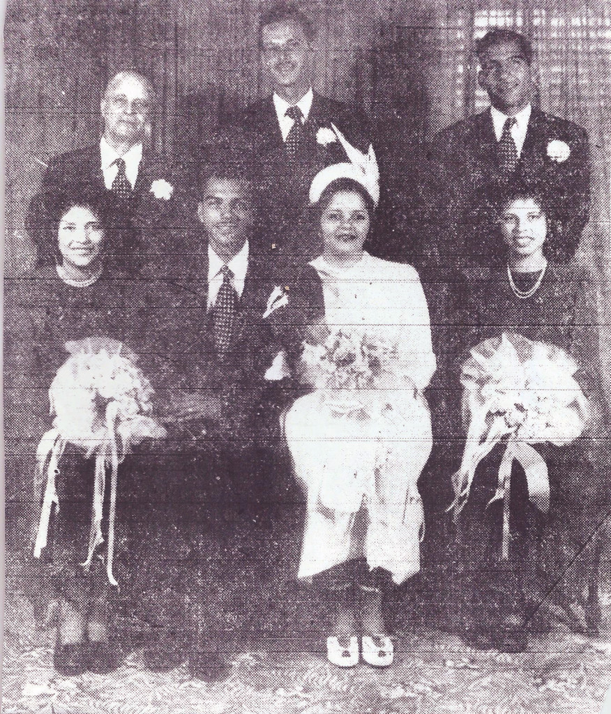 Wedding 1948- Joseph + Charbonnet